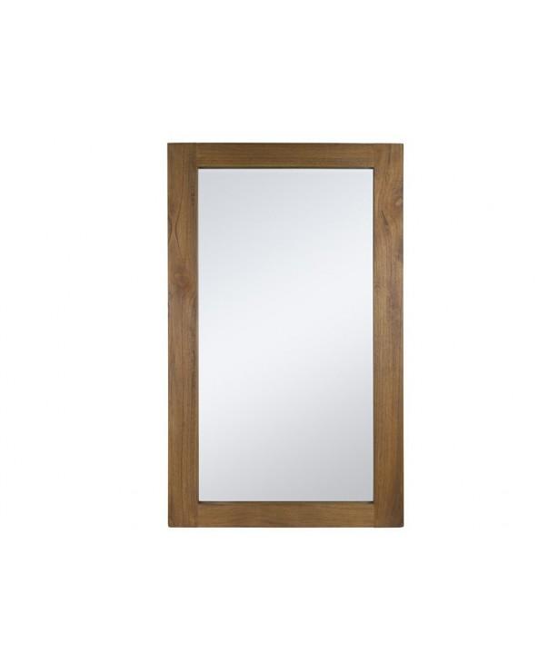 Espejo Amara madera mindi...