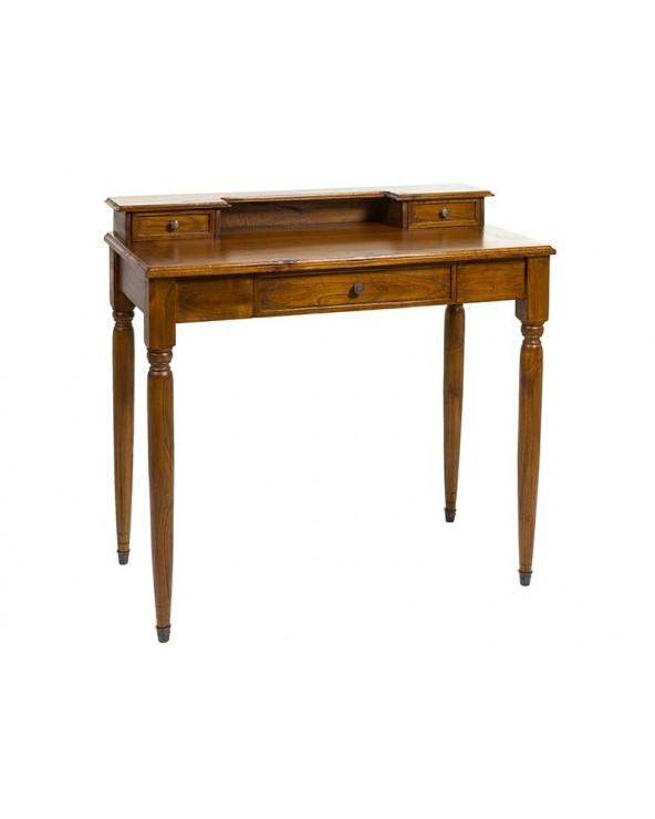 Mesa escritorio madera teka...