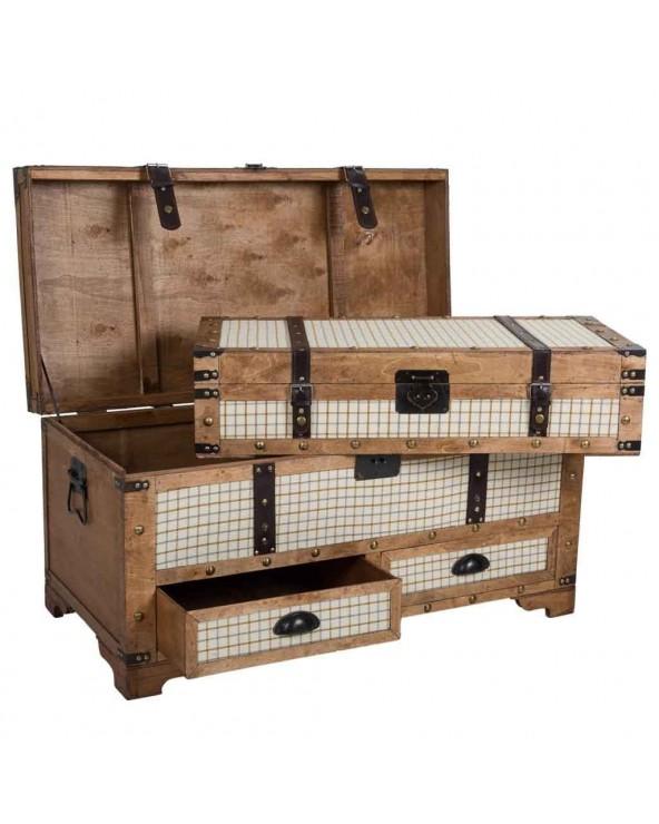 Set 2 baúles maleta...