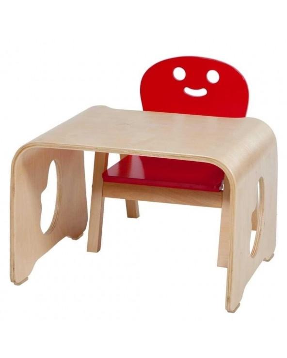 Conjunto mesa y silla...