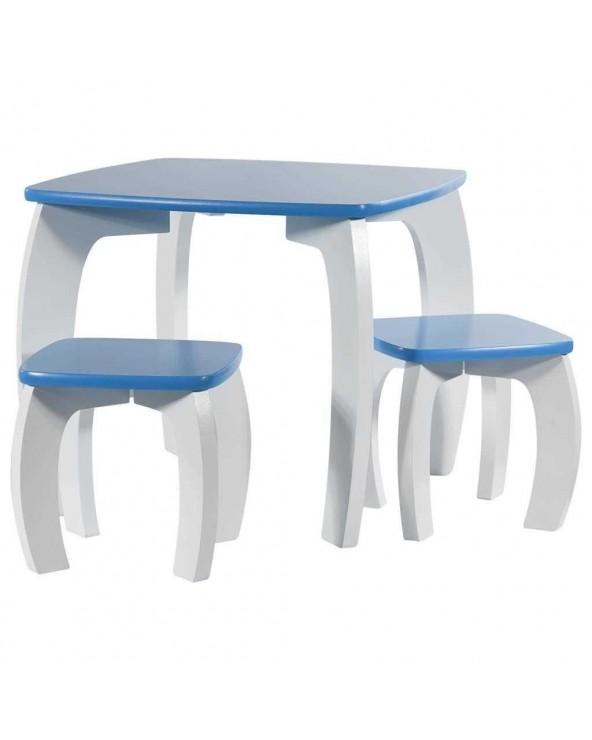 Set de mesa y 2 taburetes...