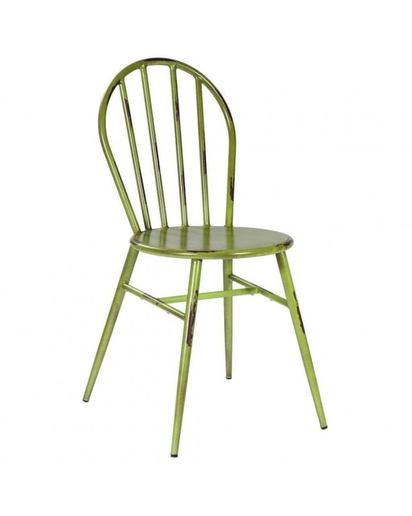Silla Eli Parry metal verde...