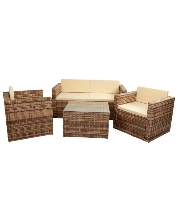 Conjunto Freya mesa sofá 2...