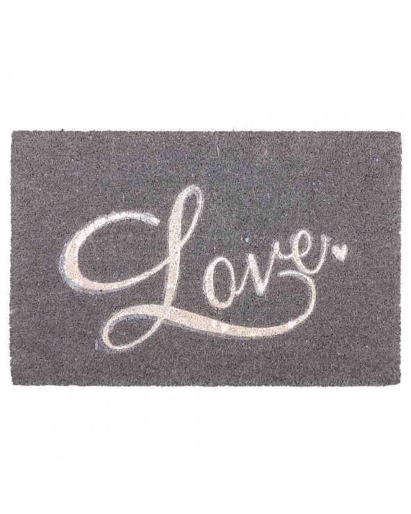 Felpudo Love fibra de coco...