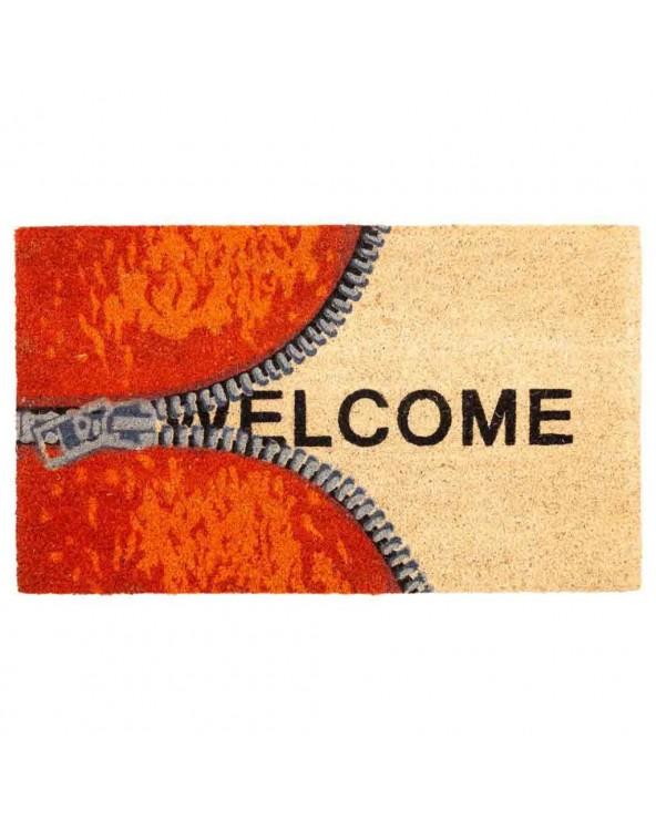 Felpudo Welcome cremallera...
