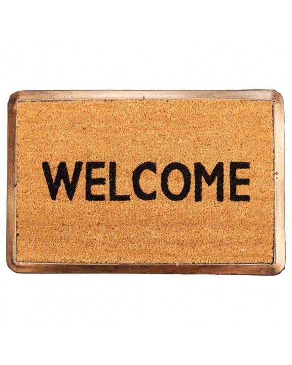 Felpudo Welcome goma cobre...