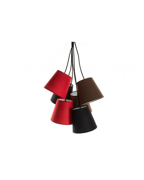 Lámpara Techo PVC 40X100 E14