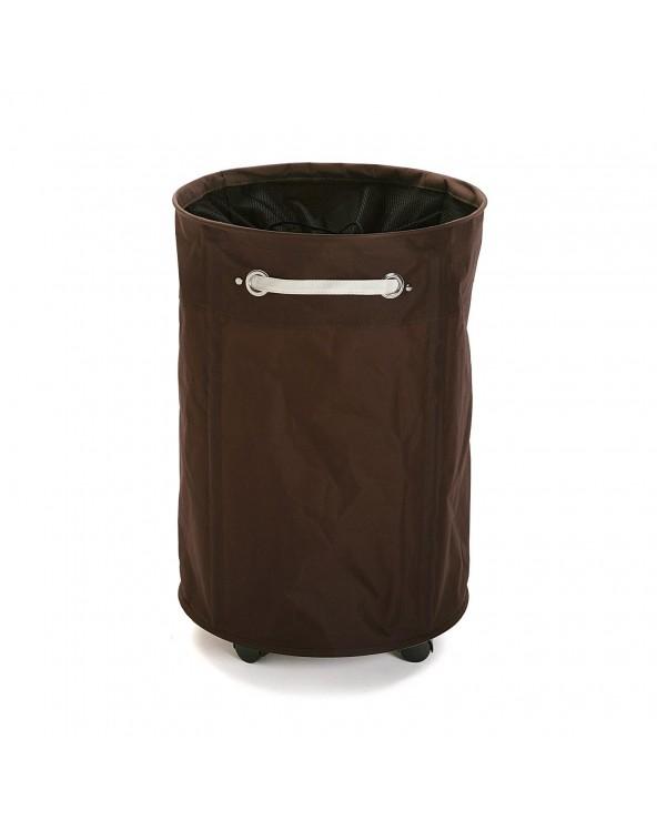 Cesto ropa redondo marrón...