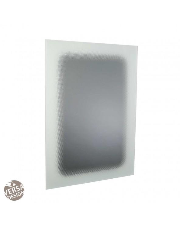 Espejo blanco cristal 60x1x90