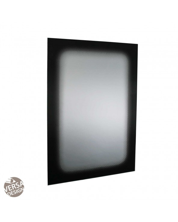 Espejo negro cristal 60x1x90