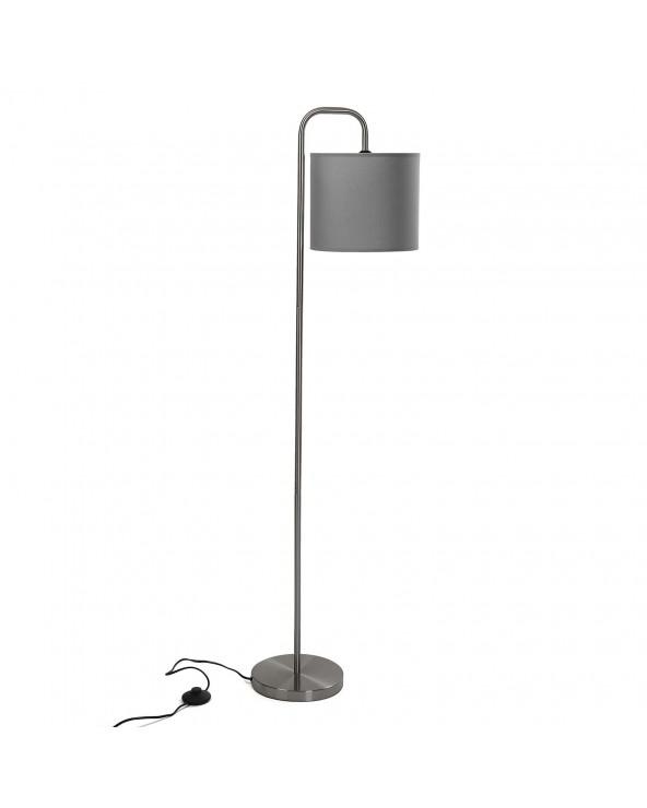 Lámpara de suelo gris metal...