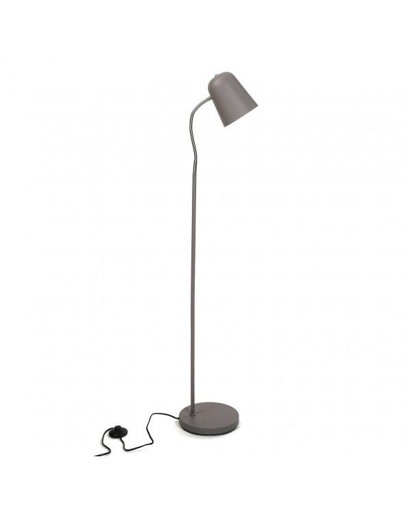 Lámpara de suelo gris 142cm...
