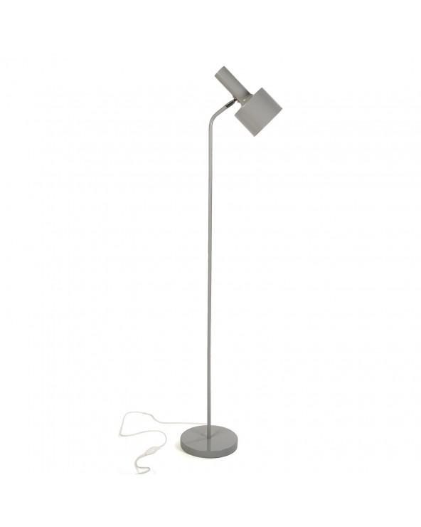 Lámpara de suelo tubo gris...