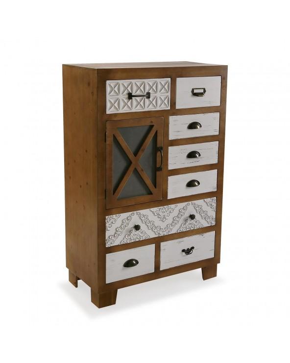 Mueble Selma madera 70x35x110