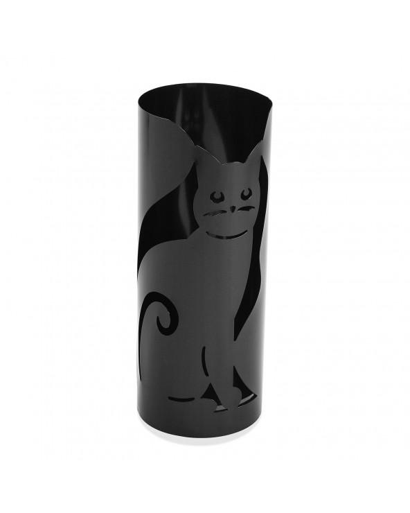 Paragüero gato negro metal...