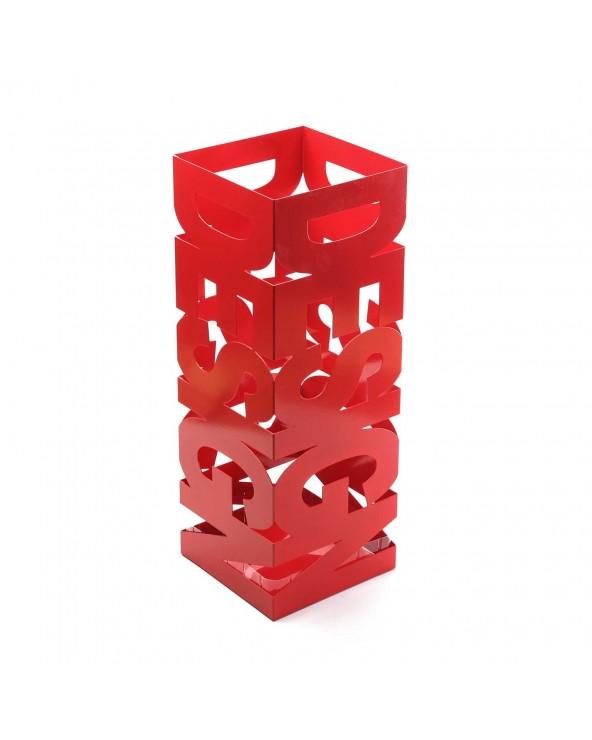 Paragüero rojo Design metal...