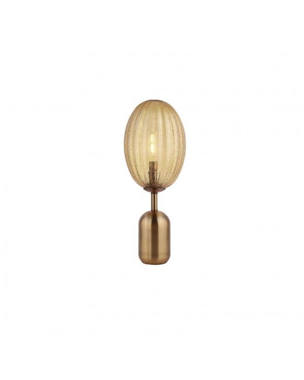 Lámpara de mesa ámbar...