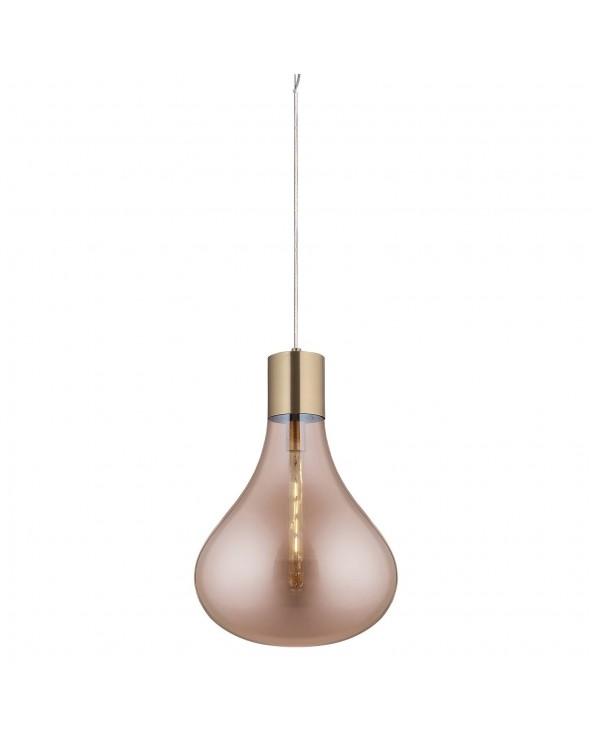 Lámpara de techo cristal...