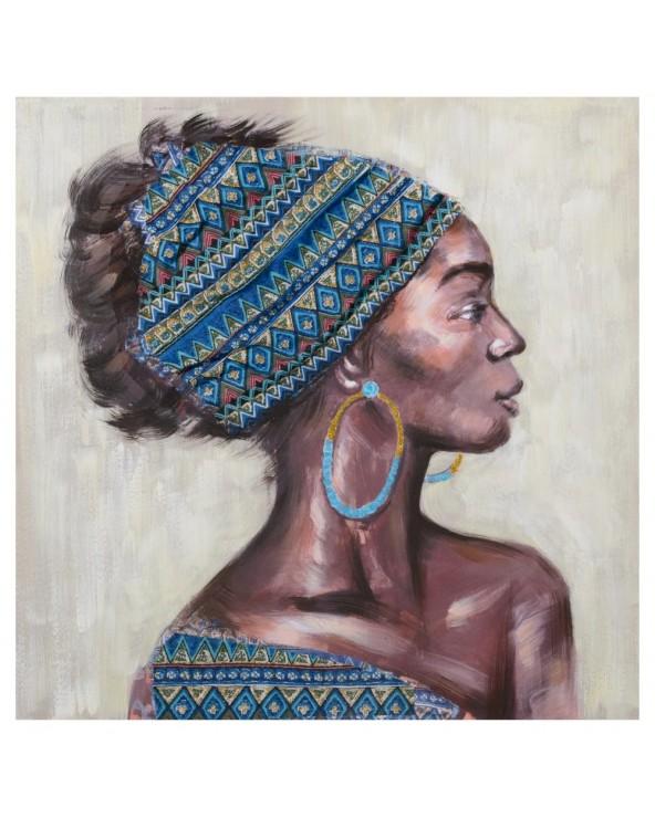 Cuadro Africana impresión...