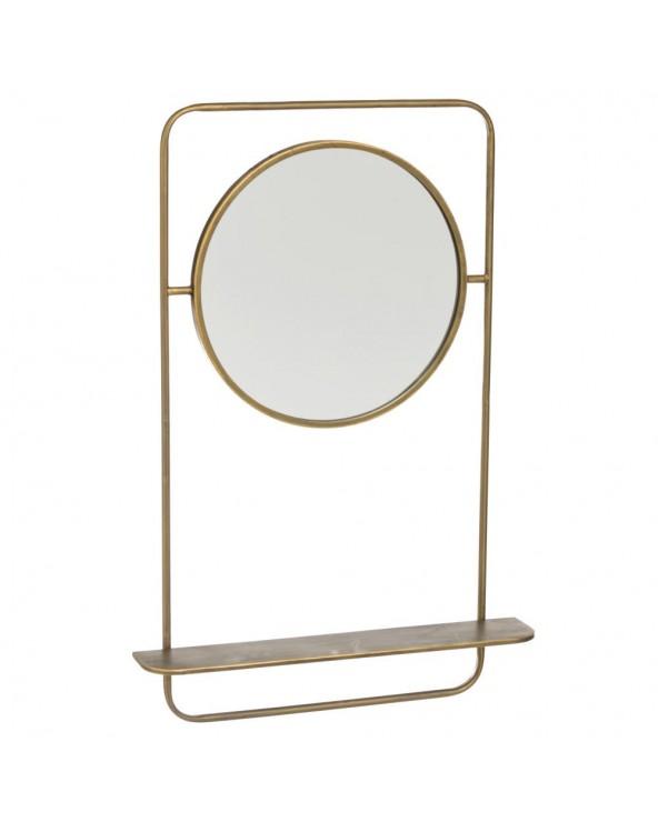 Espejo con estante Gavá...