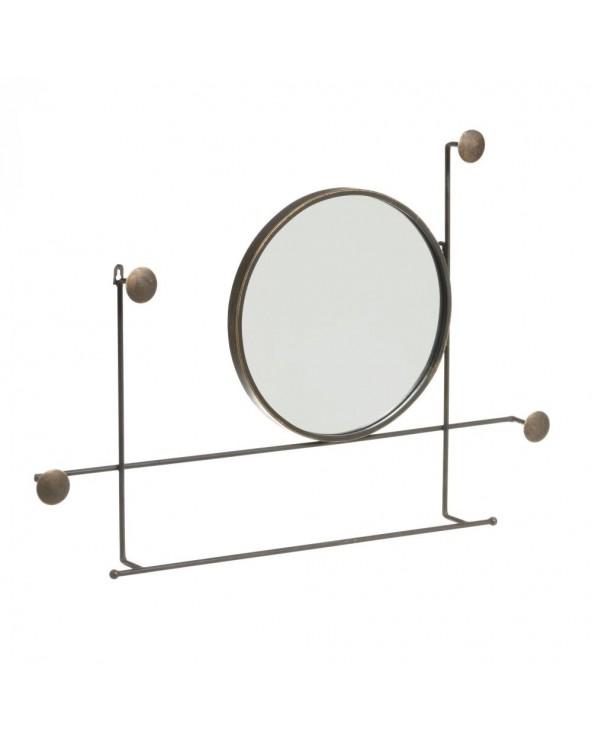 Toallero con espejo Lucena...