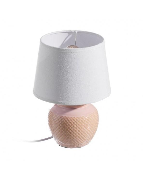 Lámpara de mesa rosa...