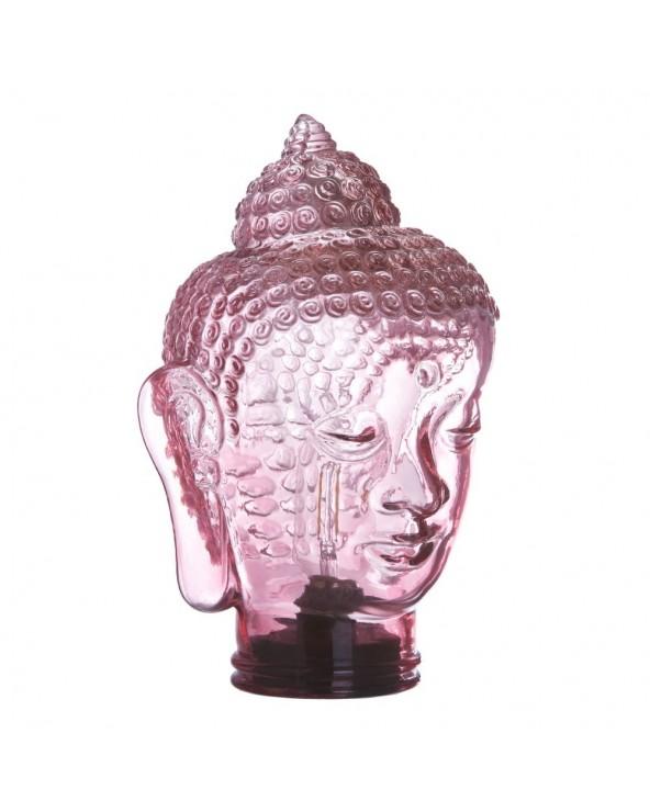 Lámpara led Buda cristal...