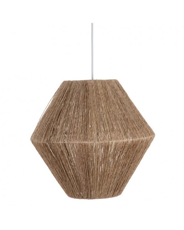 Lámpara de techo Fusté yute...