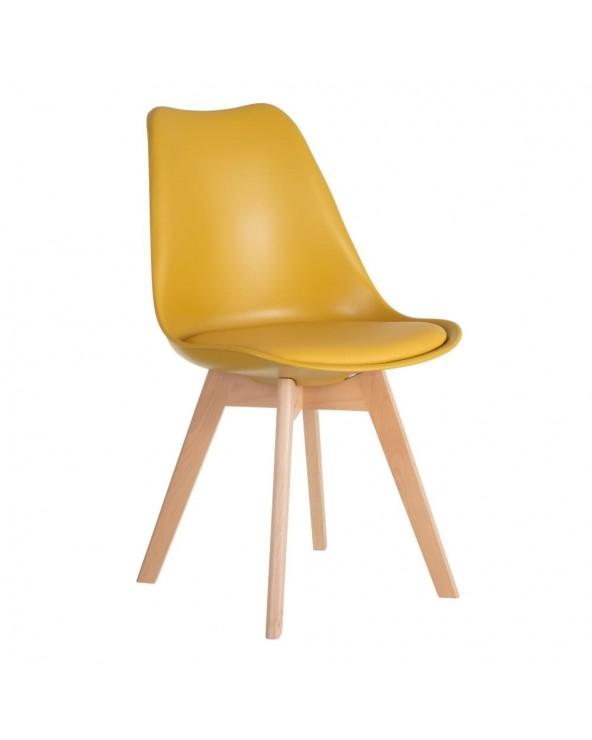 Silla Ravelino amarillo...