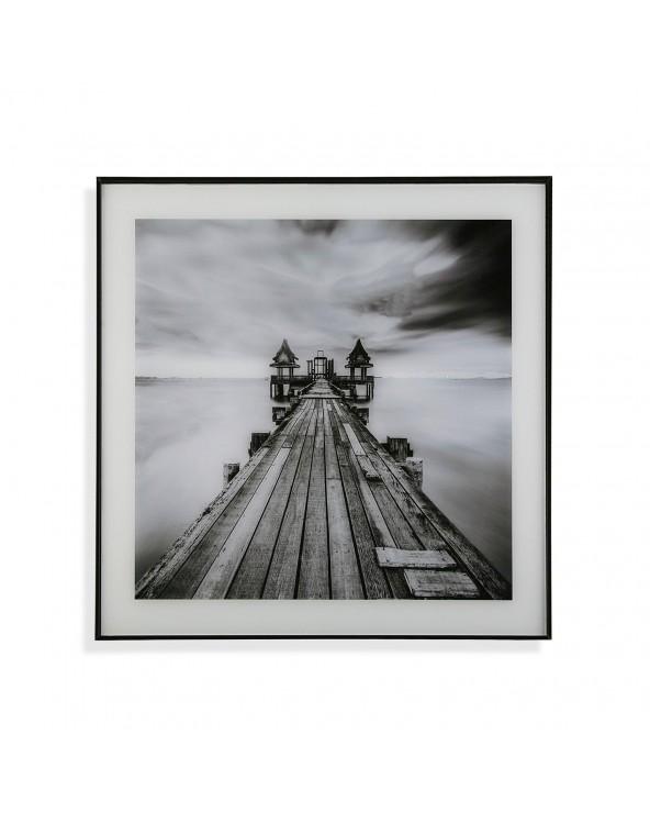 Cuadro puente en el mar...