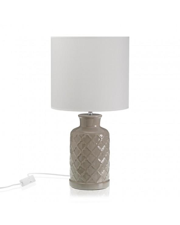 Lámpara cilindro gris 50cm...