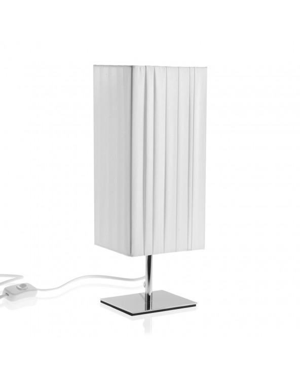 Lámpara de mesa blanca m...