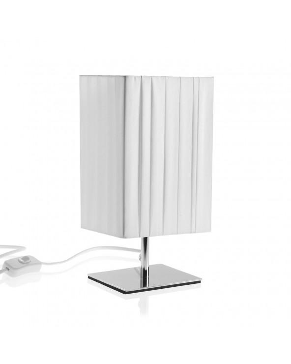 Lámpara de mesa blanca s...
