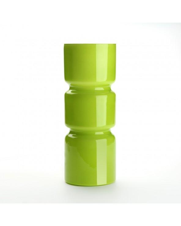 Lámpara mesa verde cristal...