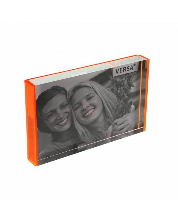 Portafotos 10x15 naranja...