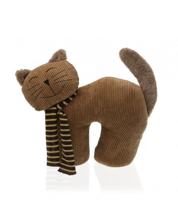 Sujeta puertas gato textil...