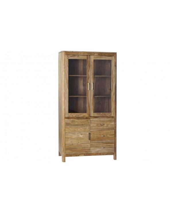 Vitrina madera sheesham...