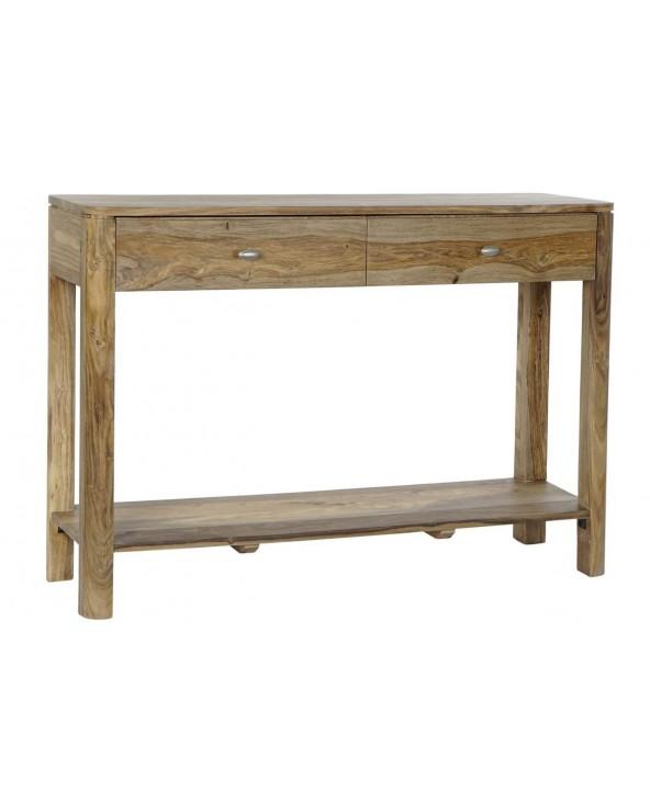 Consola madera sheesham...