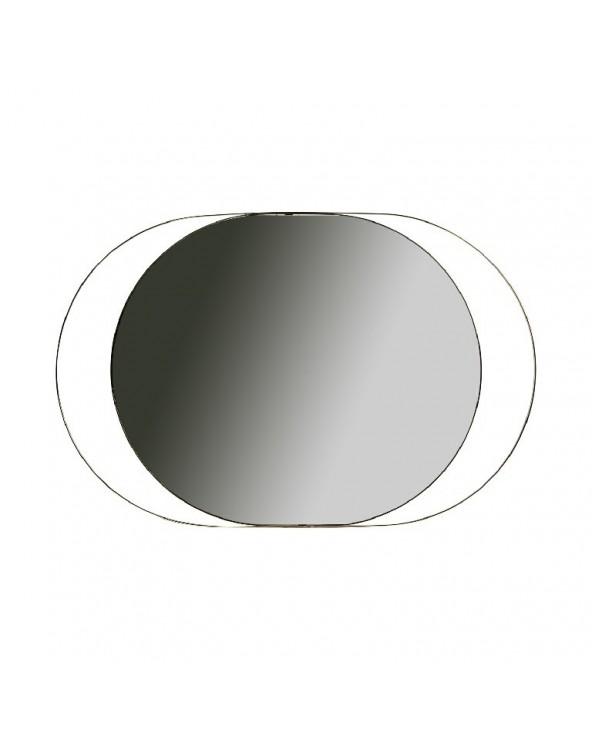 Espejo Oval Gold marco de...