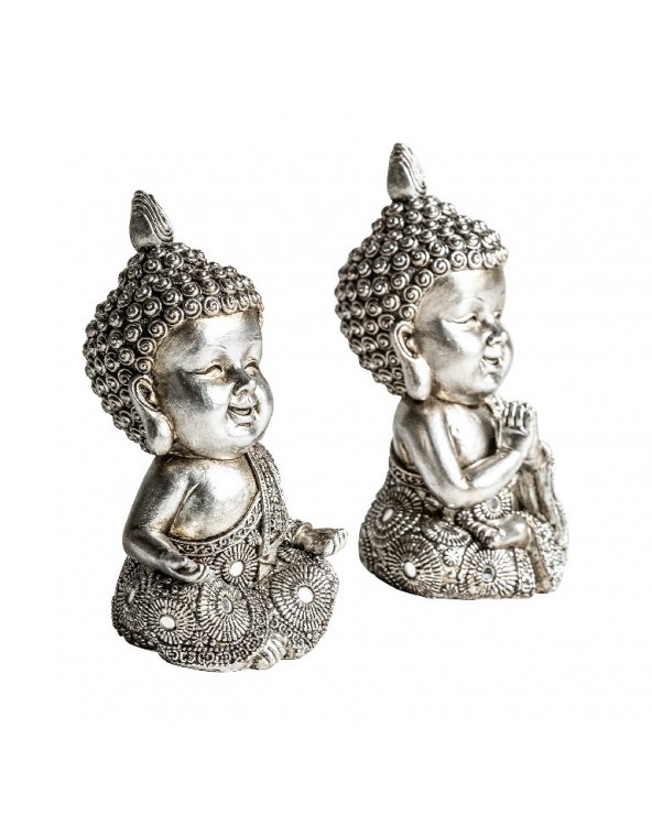 Set 2 figuras Budha niño...