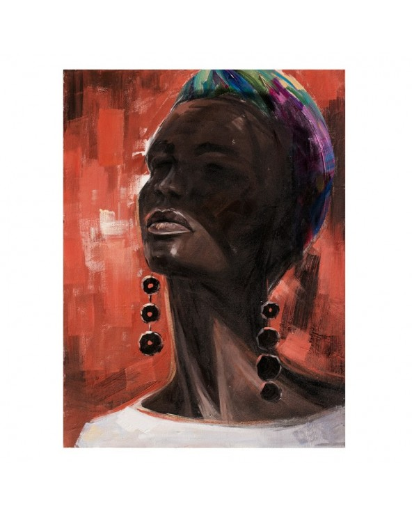 Cuadro Africana pintura...