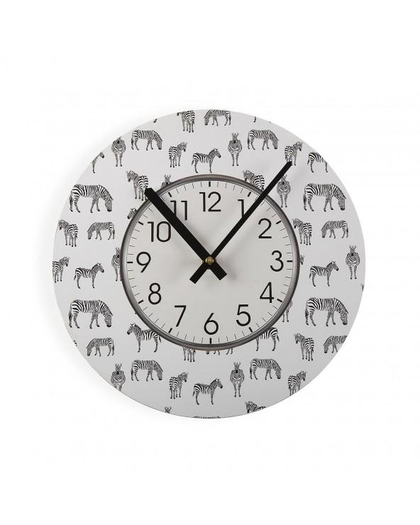 Reloj de pared cebra 29 cm...