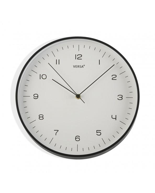 Reloj cocina negro 31.5 cm...