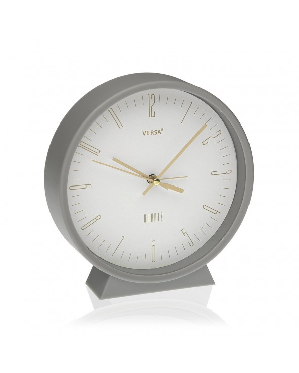 Reloj despertador gris...