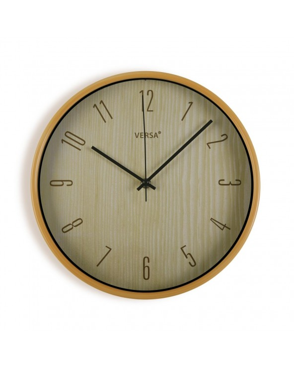 Reloj cocina madera clara...