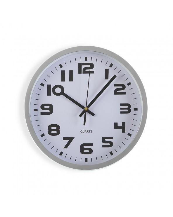 Reloj cocina plata 25 cm...