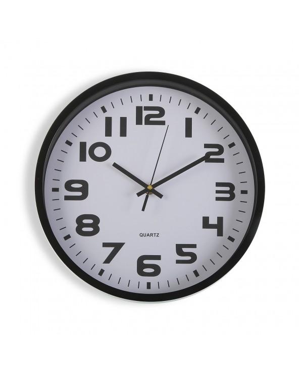 Reloj cocina negro 30.5 cm...