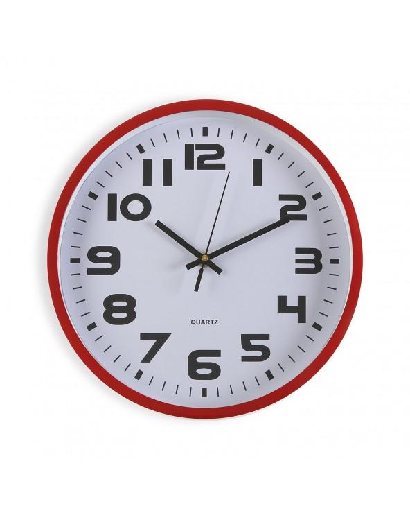Reloj cocina rojo 30.5 cm...