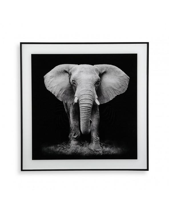 Cuadro cristal elefante...
