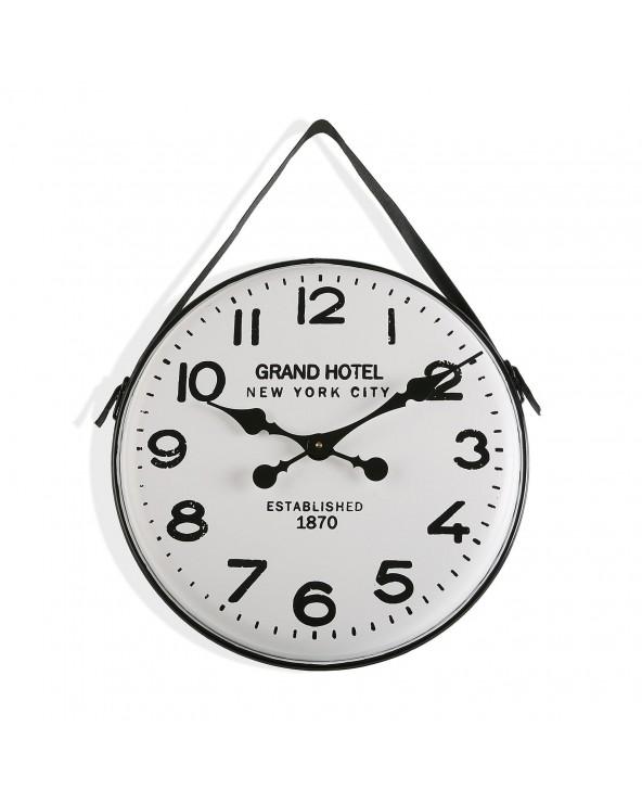 Reloj pared metal gran...